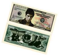 Scarface Million Dollar Bill With Bill Protector
