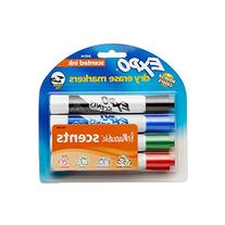 EXPO Scented Dry Erase Markers, Chisel Tip, Assorted Colors