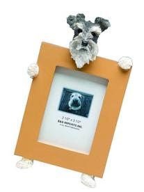 Schnauzer, Uncropped Picture Frame Holds Your Favorite 2.5
