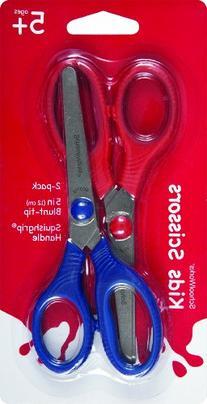 Schoolworks 5 Inch Blunt-tip Kids Scissors, 2 Pack