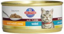Hill's Science Diet Adult Indoor Cat Savory Chicken Entree
