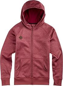 BURTON Women's Scoop Hoodie, Rosette Heather, Small