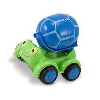 Melissa & Doug Scootin' Turtle Cement Mixer Toy - Indoor,