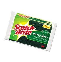Scotch-Brite Scrub Sponge 3 / Pack