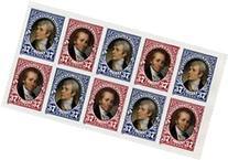 Scott 3855-3856 Lewis and Clark - Pane of Ten 37c Stamps