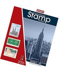 2016 Scott Catalogue Volume 4 : Standard Postage Stamp