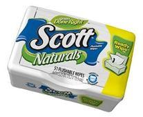 Scott Naturals with Aloe Vera Flushable Moist Wipes