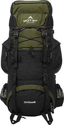TETON Sports Scout 3400 Internal Frame Backpack; High-
