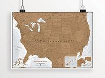Scratch USA - Scratch off places you travel - America  -