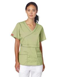 Dickies Scrubs Women's Gen Flex Junior Fit Contrast Stitch