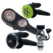 Promate Scuba Dive Regulator Gauge Octopus Gear Package,