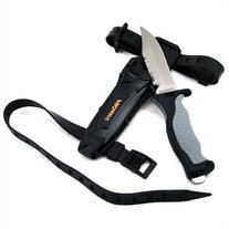 Promate Sharp Tip Titanium Dive Knife - KF593, Gray/Black,