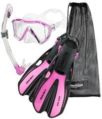 HEAD Marlin SMU Mask Fin Snorkel Set, Blue - Large