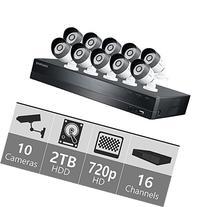 Samsung - SDH-C75100 16 Channel 1080p HD 2TB Security System