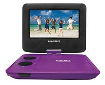 Sylvania SDVD7043-PURPBLK 7-Inch Portable DVD Player with