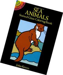 Sea Animals Stained Glass Coloring Book