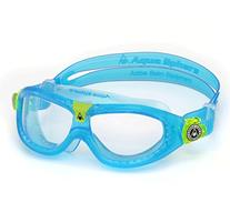 Aqua Sphere Kid's Seal Kid 2 Goggles with Clear Lens, Aqua