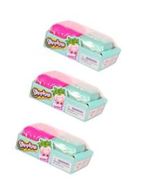 Shopkins Season 5 Blind Backpacks, 3-Pack (Six Shopkins