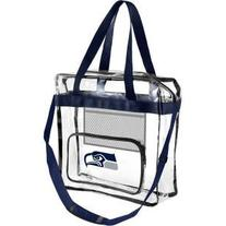 Forever Collectibles Seattle Seahawks Clear Messenger Bag w