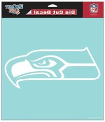 "Seattle Seahawks Die-Cut Decal - 8""x8"" Color"