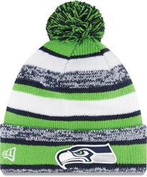 Seattle Seahawks New Era On-Field Sport Sideline Cuffed Knit