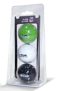 NFL Seattle Seahawks 3-Pack Golf Balls