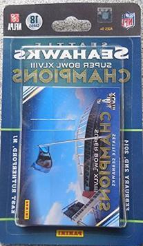 Panini Seattle Seahawks Super Bowl XLVIII Champions 18-Card