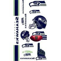 Seattle Seahawks Temporary Tattoos