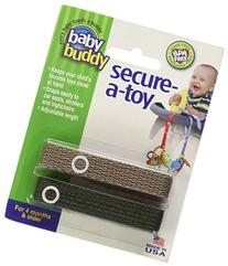 Baby Buddy Secure-A-Toy, Safety Strap Secures Toys, Teether