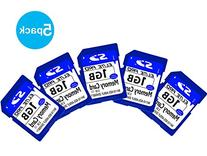 Emarth Secure Digital Flash Memory Card with High Speed 1GB