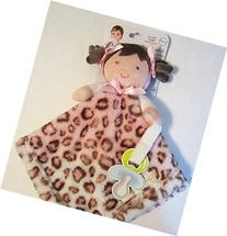 Blankets & Beyond Baby Girl Security Blanket and Pacifier