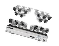 16 channel 1080p security system with 16 high definition