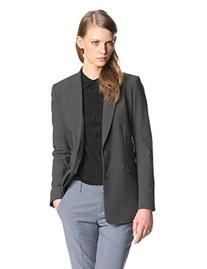 Theory Women's Selata Urban Blazer, Charcoal, 2