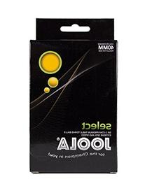JOOLA Select 3-Star Table Tennis Balls - 6 Pack - Orange