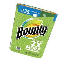 Bounty Select a Size Paper Towels 12 Mega Rolls =20 Regular