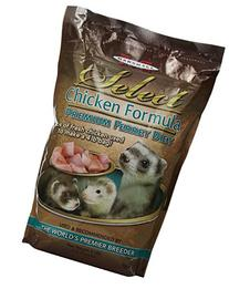 Marshall Pet Marshall Select Chicken Ferret Diet, 4-Pound