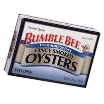 Bumble Bee Premium Select Fancy Smoked Oysters, 3.75 OZ