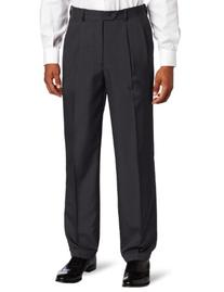 Savane Men's Big-Tall Select Edition Microfiber Pleated
