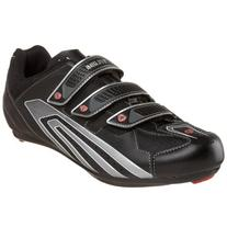 Pearl iZUMi Men's Select Road Cycling Shoe,Black/Silver,39 D