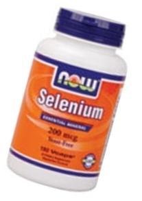 NOW Foods Selenium, 180 Vegetable Capsules / 200mcg