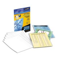 Fellowes® Self-Laminating Sheets POUCH,SELFADHSV9X12,50,CR 2159BL