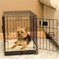 """Self-Warming Heated Crate Pad Dog Bed Size: 37"""" x 54"""", Color"""