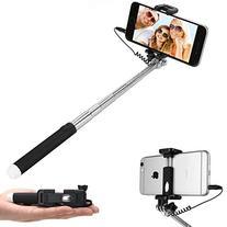 Selfie Stick,Dealgadgets Extendable Supreme Mini All in One