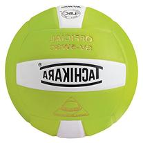 Tachikara Sensi-Tec Composite Volleyball, Lime Green/White