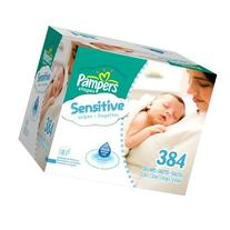 Pampers Sensitive Wipes 192 Count