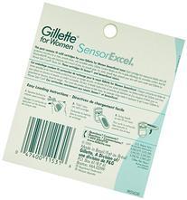 Gillette Venus Women's Sensor Excel 2 Blade Razor Refills,