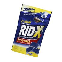 Rid-X Septic Tank System 3 Month Supply Dual Action Septi-