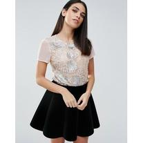Lipsy Sequin T-Shirt