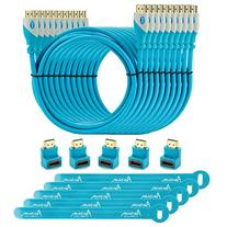 Aurum Pro Series - Pack of 10 High Speed HDMI Cable  with