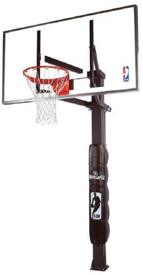 Spalding 72-Inch In-Ground Basketball System with Glass